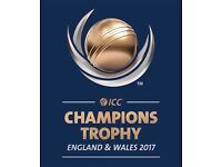 ICC Champions Trophy Semi Final 4* GOLD Tickets( Each) for Both Semi Finals