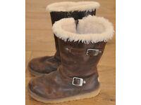 Womens Ugg Boots - Size UK 3