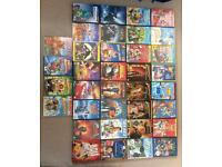 Collection of children's Disney DVDs