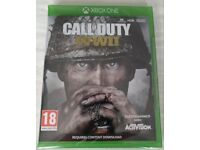 Call of Duty WWII Xbox One Brand New Sealed - collect only Stockport