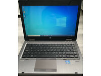 """Can Deliver - HP Windows10 Pro Laptop Fast WiFi DVD Office AntiVirus 14"""" Metalic Strong"""