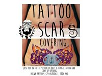 Tattoo scar cover