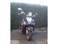 Lexmoto Valencia 125 everything works good condition £475