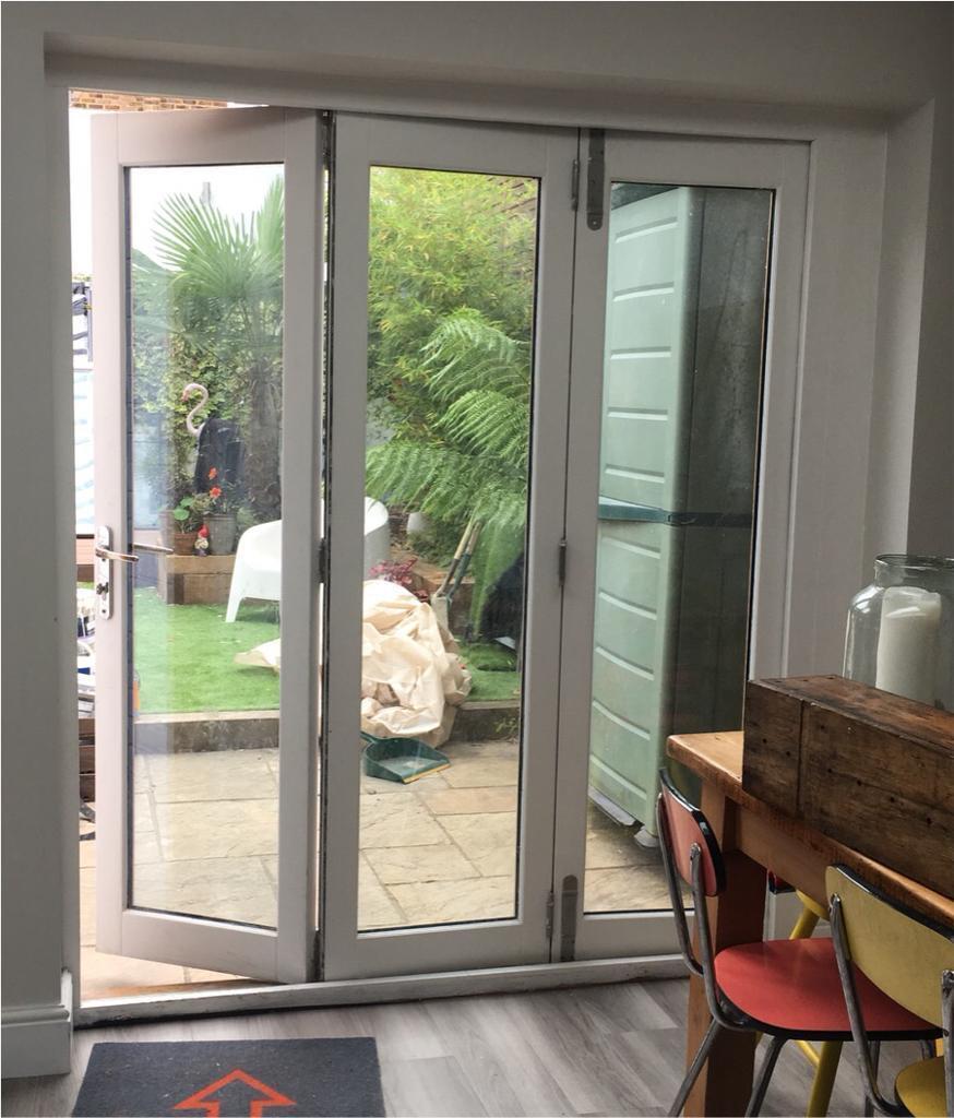 Solid Wood Bifold 3 Pane Patio Doors In Tooting London Gumtree