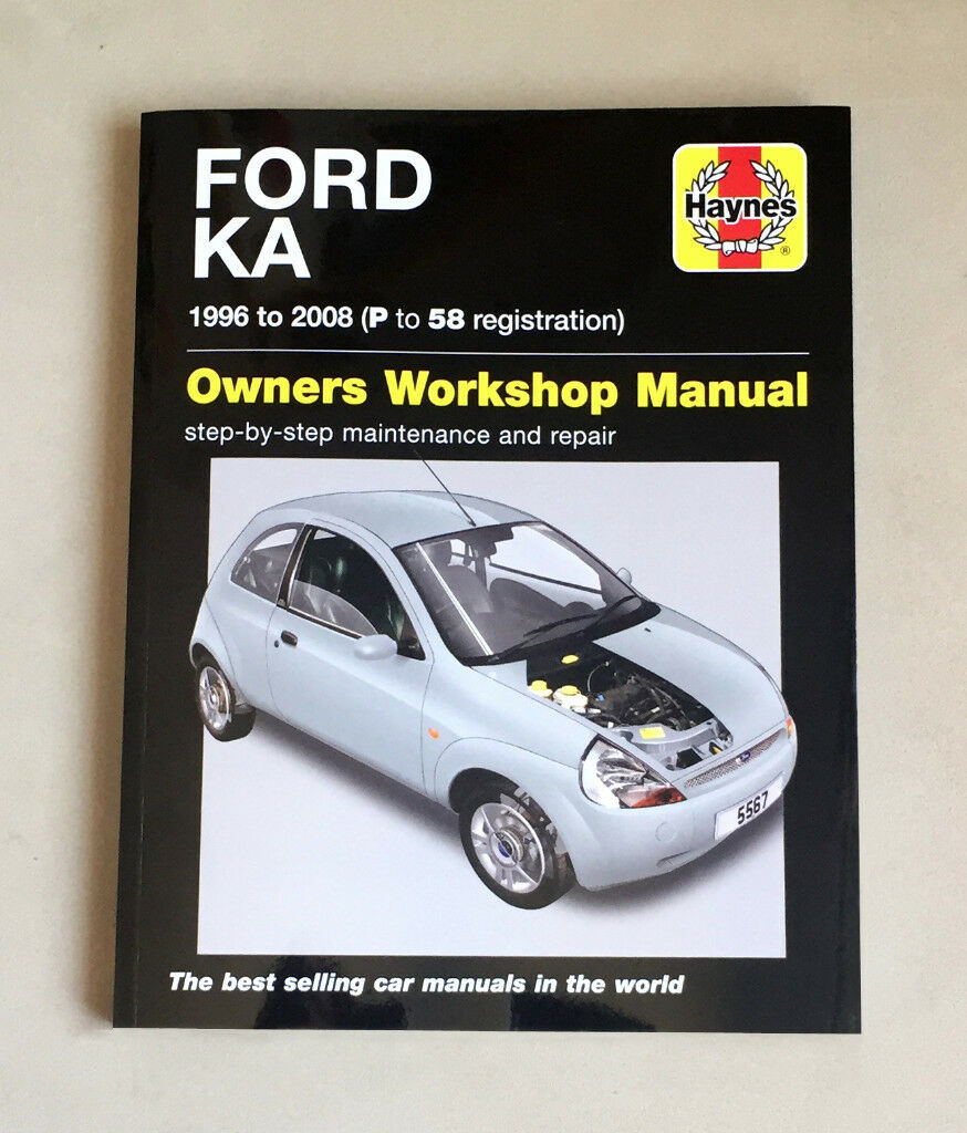 Haynes Owners Workshop Manual Ford Ka  P To  Registration