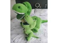 Toy story t-rex x2