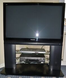 PANASONIC VIERA TV 42in PLASMA TH-42PX70B TELEVISION BLACK WITH STAND & REMOTE