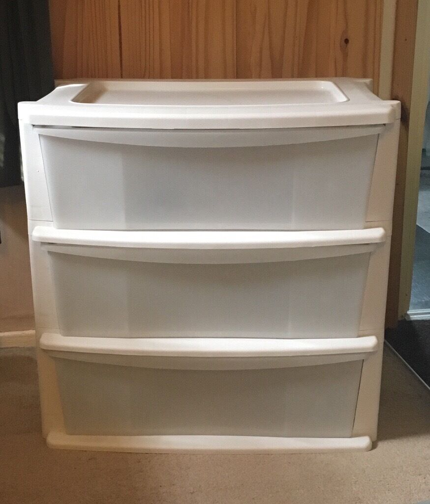 Argos 3 drawer set in rochester kent gumtree for Bedroom units argos