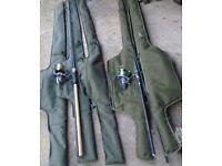 Full set up of Carp fishing gear