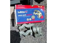 Caravan stabiliser bar and swan neck tow bar bracket good condition, bracket bought last year