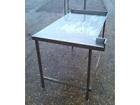 Stainless Steel Table .Catering Equipment,Work Bench 145X80cm Height:90