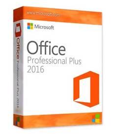 1 Full Copy of Microsoft Office 2016 Professional Plus