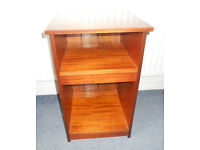 Mahogany Veneer Bedside Table - Ideal to paint