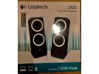 Speakers Logitech z200