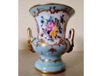CAMILLE LE TALLEC Atelier Paris Porcelain Limoges Campana Urn Vase circa 1959