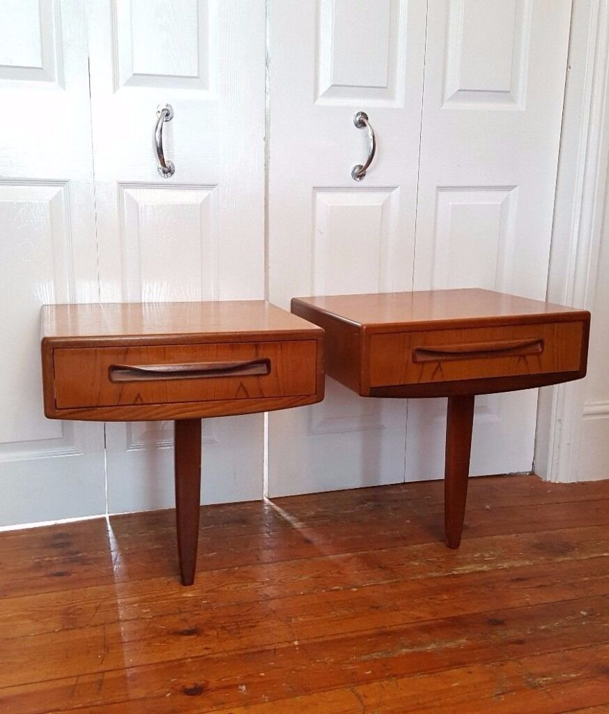 2x G Plan Vintage Bedside Tables Retro Mid Century   in New Cross ...