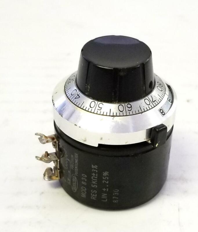 Spectra 830 Precision Potentiometer W/ Duo Dial
