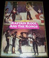 VINTAGE 1977 KAPTAIN KOOL & the KONGS 70 Piece Jigsaw Puzzle
