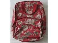Genuine Cath Kidston back pack - hardly used and in very good condition