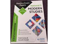 National 5 Modern Studies- Practice Exam Papers