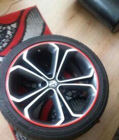 Five Y Spoke Alloy Wheels