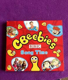 Cd CBeebies song time