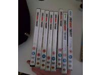 The Big Bang Theory DVD Series Season 1,2,3,4,5,6,7,8