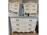 Bedside Tables & Chest of Drawers