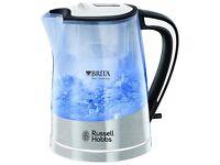 Russell Hobbs 22851 Plastic Brita Filter Purity Kettle, 3000 W, 1 Litre