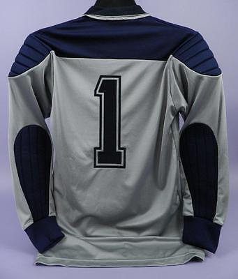 Original Vintage Unused Stock - Umbro Mens Grey & Navy Goalkeeper Shirt - fs8