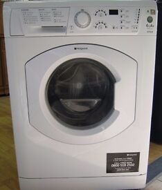 Modern Hotpoint 6kg Washing Machine, 1150 Spin, 6 Month Cover