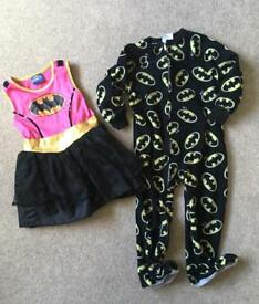 Batman clothes boys and girls