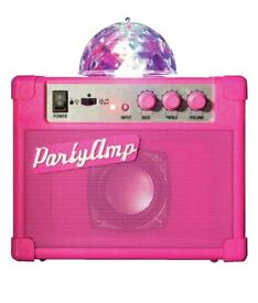 New in Box, pink party amp. Ideal for kids party, lights, sound. Was £27..99. Sell £15