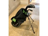 US Kids Golf Ultralight 6 Club Golf Set with Bag (57'' Height) - Great for Junior Player