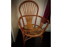 Gorgeous wicker chair
