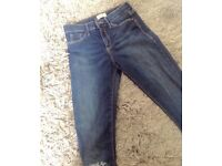 New river island jeans (size 8)