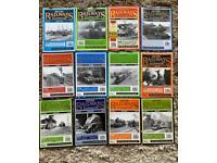 British railway illustrated magazines 1995 complete year
