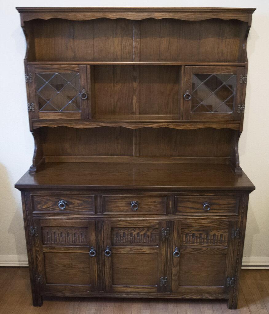 Jaycee Oak Welsh Dresser Sideboard In Polegate East Sussex Gumtree
