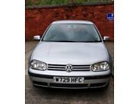 Volkswagen Golf 1.6 litre 2001 MK4