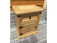 Solid Pine - Bedside Chest - Brand New