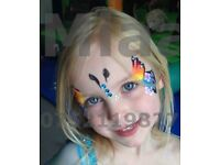 Face Painting, Glitter Tattoos, Balloon Modelling, Art Workshops. Professional Face Painter