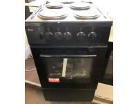 BRAND NEW 50CM FREESTANDING ELECTRIC COOKER IN BLACK ABSOLUTE BARGAIN ..!!