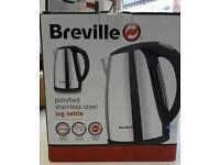 Breville polished stainless steel jug kettle