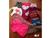Bundle of Girls 6/7 years clothes