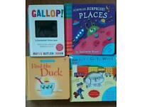 4 baby toddler kids children's boy girl hardback interactive books