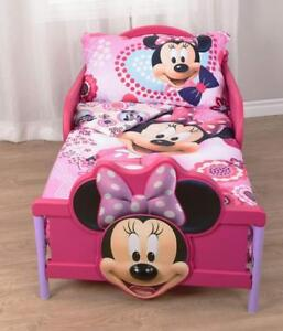 "Minnie Mouse Microfiber Sheet Set Toddler 3 Pcs Bedding Sheet Set 52"" x 28"""
