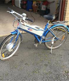 Electric bike barely used