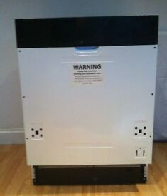 KENWOOD KID60B16 Full-size Integrated Dishwasher excellent condition