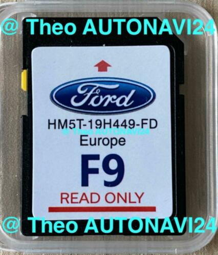 ✅ Nieuwste SD card Ford Sync2 F8+ F9 update Europa 2020+2021