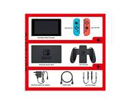 Nintendo Switch + Case and screen protector